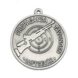 Medalha com gravura do logotipo do cliente 3D