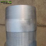 Tipo filtri per pozzi spostati collegare a forma di V del Johnson della scanalatura della Cina 40
