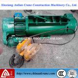 Le type grue électrique de DM de double vitesse de câble métallique