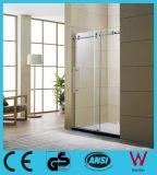 10mm Epaisseur du panneau de boîtiers de douche en verre Douche Salle de douche de vapeur d'accessoires de salle de bain baignoire douche en verre porte en verre du boîtier de mixage