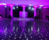 2X2FT schwarzes AcrylDance Floor mit weißer LED