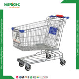 Asian Style Supermarket Shopping Trolley Cart Hand Trolley