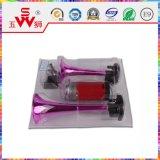 rosafarbene gewundene elektrische 2weghupe der Luft-12V