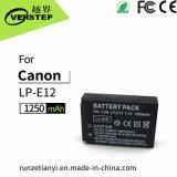 1250mAh de digitale Batterij van de Camera voor Canon lp-E12