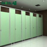 Stalles contemporaines de toilettes de salle de bains du modèle HPL de Jialifu