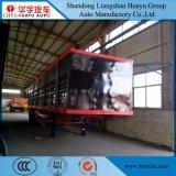 Di Huayu 3axles del palo/rete fissa del camion trasporto Horese del rimorchio semi/mucca di latte