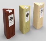 ミラーが付いているミラー/ペーパー引出しボックスが付いている木の陳列ケース