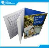 다른 크기를 가진 중국 공장 주문 인쇄 소책자