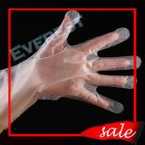 使い捨て可能なPEの手袋、HDPEの手袋、CPEの手袋