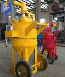 Artificiere della polvere/macchina portatile di scoppio della sabbia