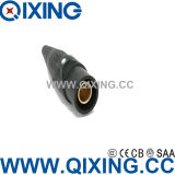 Qixing Cee/IEC Cam-Lock 연결관 IP44 400A 600V 검정
