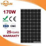 Panneau solaire monocristallin direct de la vente 170W d'usine pour solaire
