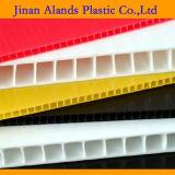 Folha colorida Coloplastic de cartão ondulado dos PP da cavidade no plástico de Alands