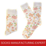 Qualitäts-Digital-Drucken-Socke der Männer