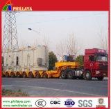Hydraulischer Lowbed Hochleistungsladungs-LKW-halb Schlussteil modular