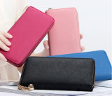 Saffiano кожаный кошелек моды женщин Wallet дамской сумочке