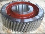 Professional feita de aço personalizado grande engrenagem em ziguezague