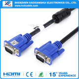 VGA Cable 3 + 2/3 + 4/3 + 6 15 Pin macho a macho Cable de ordenador
