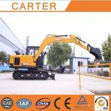 CT85-8b (Rubber Tracksの8.5t) Multifunction Backhoe Excavator