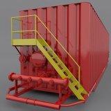 Un serbatoio dei 220 barilotti Frac per il giacimento di petrolio