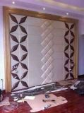 panneau de mur 3D en cuir pour la décoration à la maison