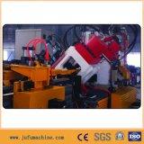 De Machine van het Ponsen van het Staal van de hoek met het Merken van Scherende Lijn