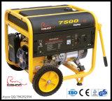 6.5KVA Hogar generador de gasolina de energía en espera de tres fases