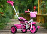 Metallrahmen-kleine Kind-Fahrt auf Spielwaren-Kind-Dreirad