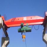 Guindaste de ponte aérea da grua de 10 toneladas para a oficina