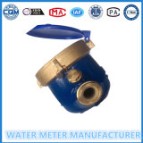 Laiton Multi-Jet Vane Wheel Dry Type Water Meter
