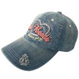 Gewaschener Jeans-Vati-Hut mit Firmenzeichen Gjjs16