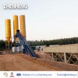 En el extranjero Modular Servicio Post-Venta 75m3/H parado (planta de procesamiento por lotes de mezcla de concreto HZS75)