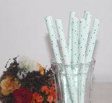 paja de papel biodegradable disponible del nuevo diseño de 8*195m m