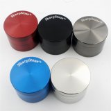 Zink Alloy Metal Herb Grinder, 50mm 3 oder 4 Parts Sharpstone Metal Smoking Tobacco Grinders