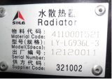 Radiateur 4110001561 de Sdlg pour le chargeur LG936/LG956/LG958 de Sdlg