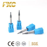 Good Quality HRC45 Degree 2 Flutes Micro Ball Nose Milling Cutter