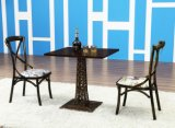 Cadeiras de jantar traseiras do metal da cruz branca nova do projeto para a venda