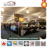 Zwei Fußboden-Zelt für Lebesmittelanschaffung, doppelter Decker-Zelt für Verkauf