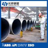 Tubos de acero inconsútil 168*7 para el servicio líquido