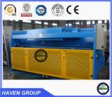 Máquina hidráulica do corte e de estaca da guilhotina, QC11Y-20X3200