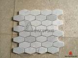 De nieuwe Tegel van het Mozaïek van het Ontwerp Witte Marmeren voor de Decoratie van de Muur