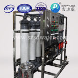 Estação de tratamento de água mineral pequena para a fábrica da água
