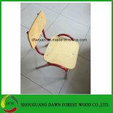 Venta caliente madera acero Estudiantes ajustable de escritorio y silla