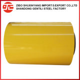 La alta calidad/precio más bajo de la bobina de acero con recubrimiento de color/PPGI para tejados
