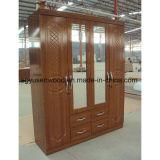 De hete Houten Garderobe van de Garderobe van de Raad van de Melamine MDF/Particle van de Lage Prijs van de Verkoop