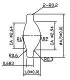 La lente de enfoque (ASPHERIC DISEÑAR) Bb06