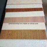 WPC compuesto de plástico madera Paneles de pared para la decoración de interiores