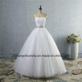 Strapless Diamond официальных Crystal рельефная свадебные платья