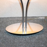 De klassieke Schemerlamp van de Schaduw van het Roestvrij staal van het Hotel Decoratieve Snijdende
