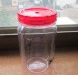 450ml kies Kruiken van de Metselaar van de Muur de Plastic met het Deksel van het Handvat en van het Stro uit